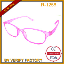 Pink Matte Tr90 Frame and Temple Reading Glasses Manufacturer R-1256